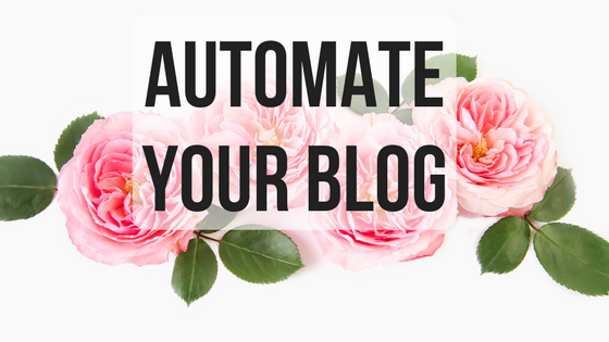 automate your blog
